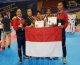 Indonesia Successfully Gained 2 Bronze at the Asian Cadet Championship Event in Vietnam