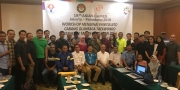 Workshop National Technical Officer (NTO) cabor Taekwondo, Hotel Sahid, Jakarta 6 – 7 April 2018.